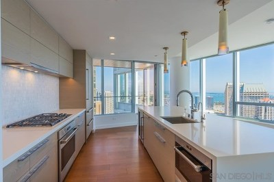 San Diego Condo/Townhouse For Sale: 888 W E St #3903