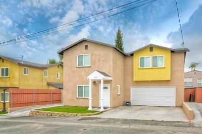 La Mesa Single Family Home For Sale: 5814 Pawnee Dr