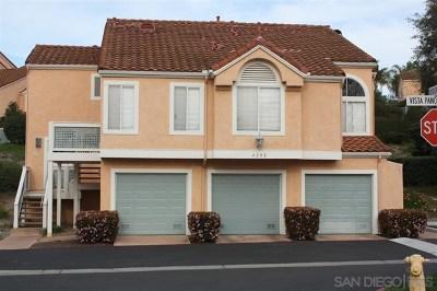 Oceanside Condo/Townhouse For Sale: 737 Vista Grande Way #306