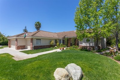 Fallbrook Single Family Home For Sale: 948 Cookie Lane