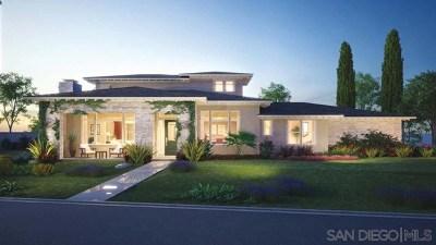 Encinitas Single Family Home For Sale: 386 Fulvia