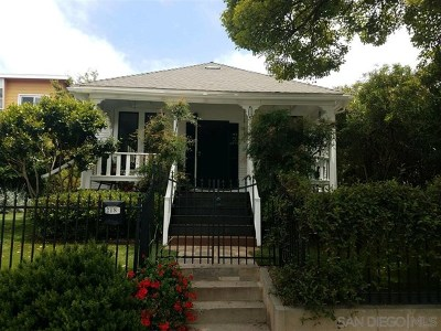 Oceanside Single Family Home For Sale: 218 S Clementine St