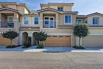 Carlsbad Condo/Townhouse For Sale: 6930 Tourmaline Pl