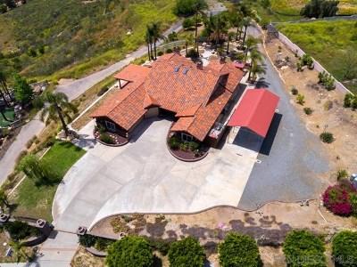 El Cajon Single Family Home For Sale: 9742 Red Pony