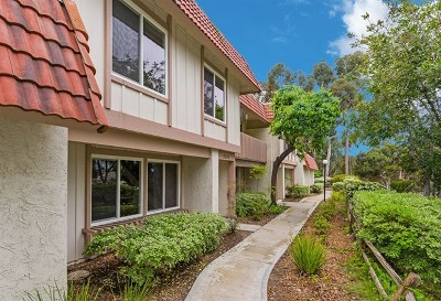 Carlsbad Condo/Townhouse For Sale: 2508 Via Rojo