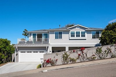 Cardiff by the Sea Single Family Home For Sale: 1044 Genie Lane