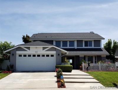 Oceanside Single Family Home For Sale: 3773 Stanford Dr.