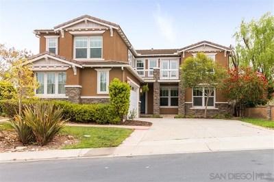 San Elijo Hills Single Family Home For Sale: 971 Baylor Dr
