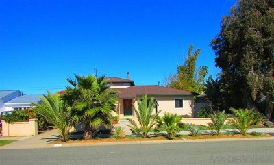 Imperial Beach Single Family Home For Sale: 442 Calla Ave