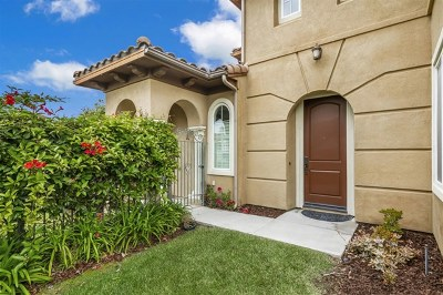 San Marcos Single Family Home For Sale: 841 Luminara Way