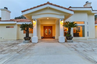 Fallbrook Single Family Home For Sale: 525 Stewart Canyon Road