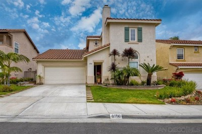 Carlsbad Single Family Home For Sale: 6086 Paseo Carreta