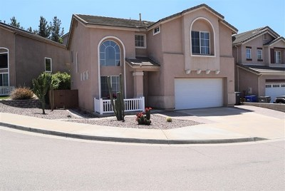Alpine Single Family Home For Sale: 2975 River Shadow Crt
