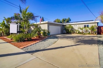 Imperial Beach Single Family Home For Sale: 824 Iris Ave