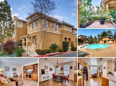 San Marcos Condo/Townhouse For Sale: 1728 Morgans Avenue