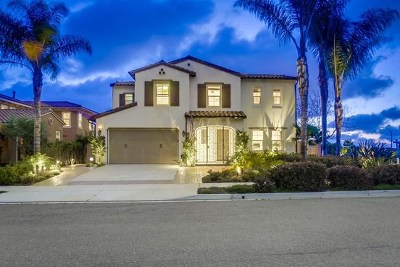 Carlsbad Single Family Home For Sale: 6653 Thrasher Place