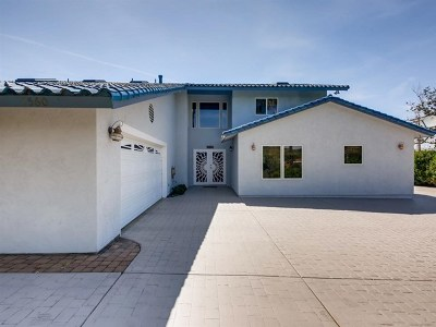 Fallbrook Single Family Home For Sale: 1560 Vista Del Lago