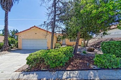 Alpine CA Single Family Home For Sale: $465,000