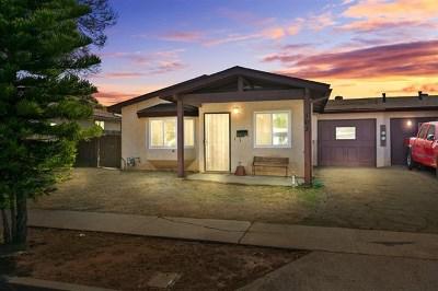 Escondido Single Family Home For Sale: 103 Fernwood Ave