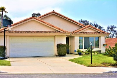 Carlsbad Single Family Home For Sale: 1795 McCauley