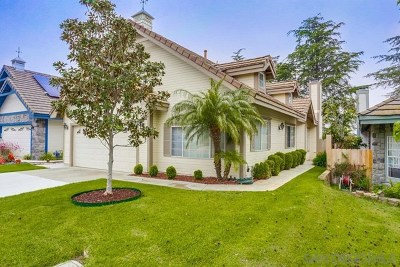 San Marcos Single Family Home For Sale: 863 English Holly Ln