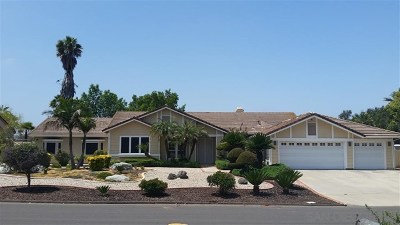 Poway Single Family Home For Sale: 15884 Bent Tree Road