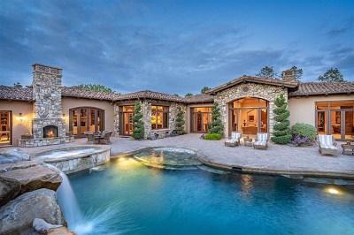 Alpine, Carmel Valley, Del Mar, Encinitas, Escondido, Rancho Santa Fe, San Diego Single Family Home For Sale: 17230 Via Recanto