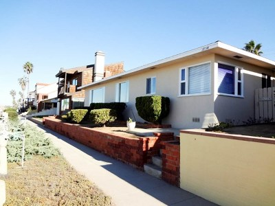 Oceanside Single Family Home For Sale: 1834 S Pacific St