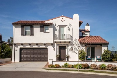 Carlsbad Single Family Home For Sale: 1628 New Crest Ct
