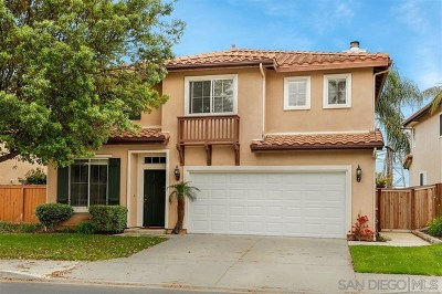 Carlsbad Single Family Home For Sale: 1596 Sapphire Dr