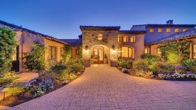 Poway Single Family Home For Sale: 18000 Sunset Point Rd