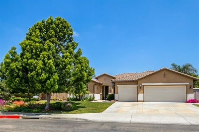 San Marcos Single Family Home For Sale: 762 Lavender Ct