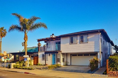 Imperial Beach Single Family Home For Sale: 118 Elm Ave
