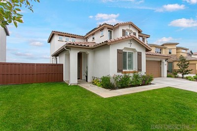 San Marcos Single Family Home For Sale: 911 Terraza Mar