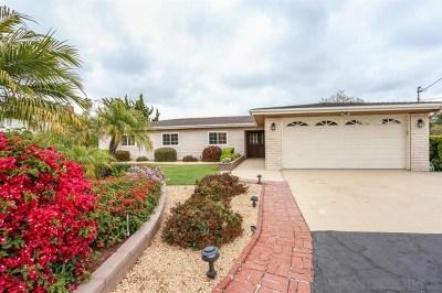 Vista Single Family Home For Sale: 330 Zada Lane