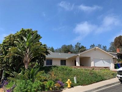 Del Mar Single Family Home For Sale: 13310 Mango Dr