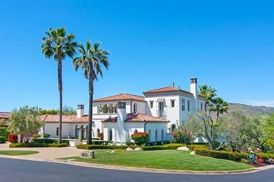 San Diego Single Family Home For Sale: 16511 Down Memory Lane