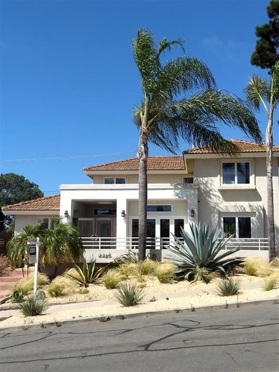 San Diego Single Family Home For Sale: 4426 Adair St.
