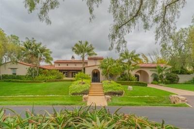 San Diego Single Family Home For Sale: 14019 Caminito Vistana