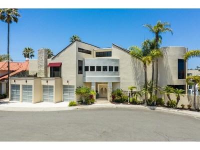 Coronado Single Family Home For Sale: 4 Buccaneer Way