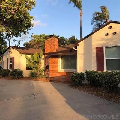 Chula Vista Single Family Home For Sale: 18 L Street