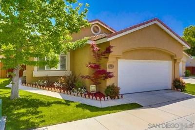 Escondido Single Family Home For Sale: 8939 Platanus Place