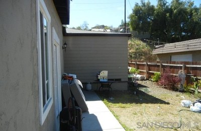 Lakeside CA Single Family Home For Sale: $400,000
