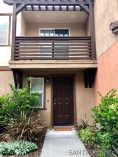Chula Vista Condo/Townhouse For Sale: 2710 Sparta Road #2