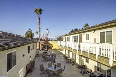 Imperial Beach Condo/Townhouse For Sale: 631 7th St #12