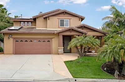 Escondido Single Family Home For Sale: 10656 Aspen Glen