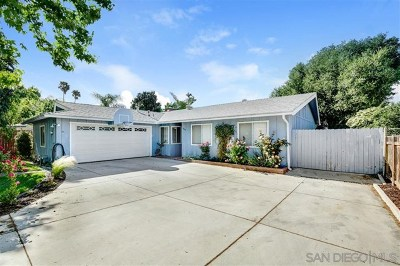 Fallbrook Single Family Home For Sale: 1014 La Solana Dr.