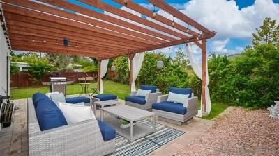 Carlsbad Single Family Home For Sale: 6826 Via Verano