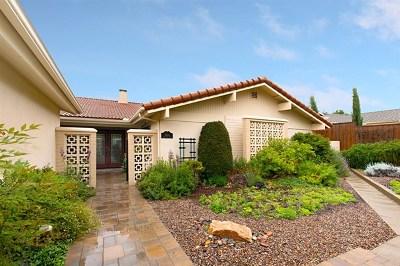 Fallbrook Single Family Home For Sale: 3550 Oak Cliff Drive