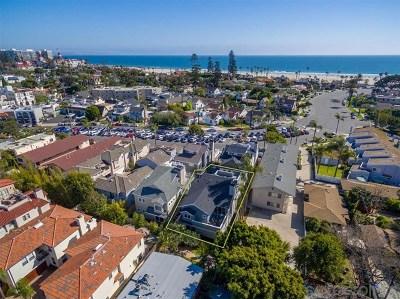 Coronado Single Family Home For Sale: 1050 Isabella Ave